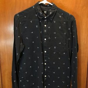 H&M casual button down